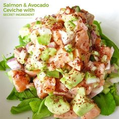 Ceviche of salmon and avocado recipe food network recipes food food network recipes see more good morning everyone its nutritionalgrail here with a quick and easy powerlunch idea forumfinder Gallery