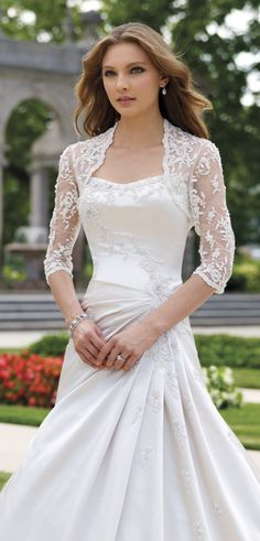 lace wedding dresses with long sleeve