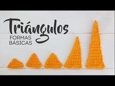 Triángulos a Crochet (Formas Básicas en Amigurumi) - Disminuyendo puntos