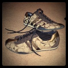 Coach sneakers. Size 7. They are still in good shape. Coach Shoes Sneakers