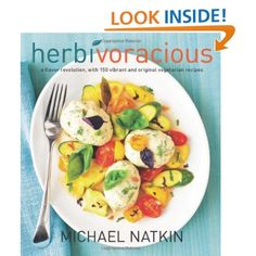 Herbivoracious by Michael Natkin- Named after the cooking blog by the same name, this cookbook is also a 2013 James Beard Award Finalist for vegetarian cuisine.