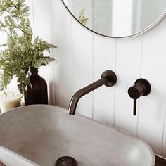 Shop our Concrete Nation sink, vanity and bath collection online. Concrete Basin, Concrete Bathroom, Curved Lines, French Grey, Reno, Business Design, How To Make, Lead Time, Home Decor