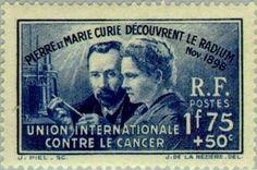 Pierre and Marie Curie discovered radium. International Unio