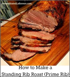 How to make perfect prime rib every time. Start by cooking a standing rib roast at high temperature to lock in the juices, then cook low and slow until done.