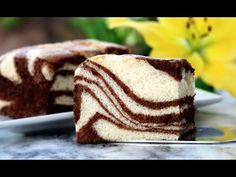 How To Make Zebra Cake طرز تهیهٔ کیک دو رنگ کاکاو و ونیلا Zebra Cake Recipe - YouTube