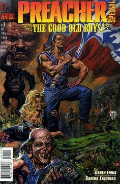 vintage comic book covers | The Geeky Nerfherder: Comic Book Cover Art: Preacher