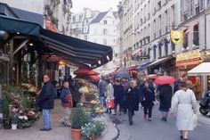 Rue de Buci St. Germaine de Pres - another recommended street for food and neat shops