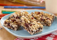 These kid-friendly bars are a great snack for after school or on the go. Made with dried cranberries, apricots and raisins and Eagle Brand Low Fat Sweetened Condensed Milk, you get a whole lot of goodness without all the fat.