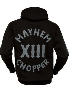 Mayhem Chopper Hoody - MEN OF MAYHEM -  #Hoody #Black #grau #chopper   #badass #mayhem #clothing #bikes #13 #selfjustice #tattoo #harley #girl #fashion #tattoo #Look #Fitness #Model #ink #crew #True #urban #street #gang #fight #mc #crime #oldschool #guns #menofmayhem13 #mma #fighter #bike #cage #motorcylcle #apparel #chopper #onlinestore #menofmayhem