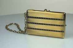 A French Gold Minaudiere