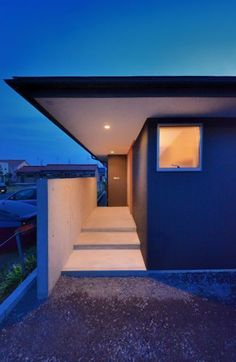 Entrance Lighting, Exterior Lighting, Porches, Front Entry, Exterior Design, Lighting Design, Stairs, House Design, Architecture