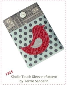 Free Kindle Case Pattern to Download