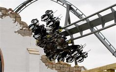 Thorpe Park orders rollercoaster improvements after dummies lose limbs Best Roller Coasters, Thorpe Park, Parks, Chandelier, Ceiling Lights, Heart, Candelabra, Chandeliers, Outdoor Ceiling Lights
