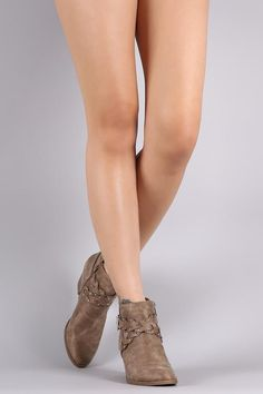 c9e979544d456 Braided Buckle Booties. Ankle BootiesBootie BootsBallet ShoesDance ...
