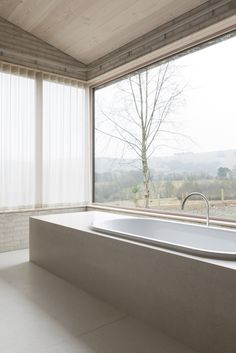The Life House - a retreat in Wales, created by The School Of Life. Designed by architect. John Pawson
