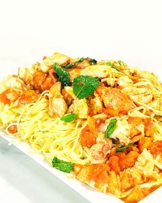 Spicy Lobster with Linguini