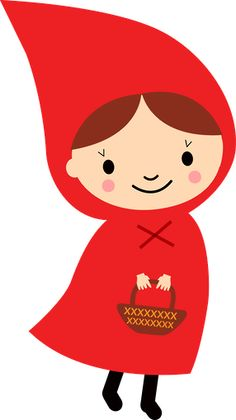 chapeuzinho vermelho minus pinteres rh pinterest com little red riding hood clipart free red riding hood wolf clipart