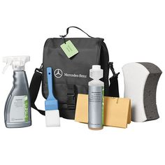 Exterior care kit Exterior care kit (the bag containes shampoo, cleanser for alloy wheels, sponge and cleaning cloth) Alloy Wheel, Cleanser, Mercedes Benz, Shampoo, Wheels, Bags, Exterior, Kit, Handbags
