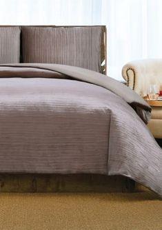 Crinkle Velvet Duvet Set - Rosé - Full/Queen King Duvet Set, Duvet Sets, Brown Duvet Covers, Bedroom Furniture, Bedroom Decor, Master Bedroom, Yellow Duvet, Daybed Bedding, Velvet Duvet