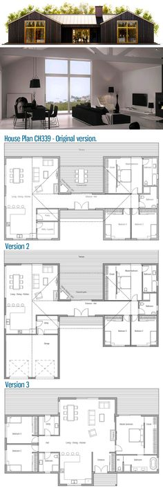 Home design, floor plan, home design