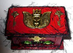 WOOD JEWELRY KEEPSAKE  wedding trinket memory box by wowitems4less,
