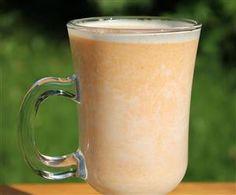 Sütőtök latte (tejes sütőtök ital) Latte, Starbucks, Food And Drink, Milk, Beer, Drinks, Tableware, Recipes, Foods