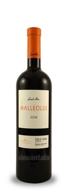 Malleolus 2010, Emilio Moro, DO Ribera del Duero. Para mi... el reserva de Emilio Moro... Suave, permanente en boca... una delicia... Nada que ver con el crianza, que por cierto, no es de mi gusto... pero este.. Increíble!