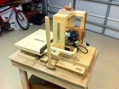 Horizontal Mortise Machine (build)