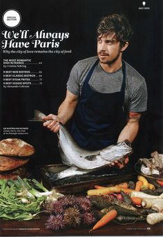 Conde Nast Traveler: Chef?