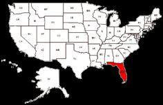 Fort Pierce-2, Fort Walton Beach-7, Gainesville-7, Green Cove Springs-2, Gulfport, Hampton, Hialeah-3, Hilliard, Hillsboro Beach-2, Hobe Sound, Holly Hill, Hollywood-3, Homestead-3, Homosassa-3,   Immokalee, Inverness-3, Jacksonville-18, Jacksonville Beach, Key West, Labelle, Lakeland-3, Lake Placid, Lake Worth-2, Largo-3, Lawtey, Laurel, Leesburg-2, Lehigh Acres-3, Lithia, Longwood-4, Margate, Marianna, Melbourne-2, Melrose, Miami-24, Miami Lakes, Middleburg-2, Molino, Mount Dora,