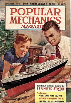 In the 1950s, it was popular to build models of the SS United States ... Learn more about the fastest ship in the world?
