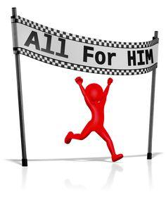 Running The Race of Faith - All For HIM