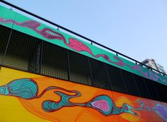 Rimon Guimarães , Hogevercht -Bijlmer -Amsterdam , Holland setembro 2014. R.U.A http://www.rua-art.org