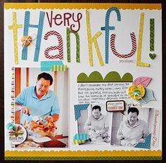 Bella Blvd. Thankful. Layout by DT Member Wendysue Anderson