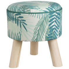 Stools on Maisons du Monde. Take a look at all the furniture and decorative objects on Maisons du Monde. Summer Deco, Bedroom Stools, Metal Stool, Piece A Vivre, Decorative Objects, Dressing Room, My House, Tropical, Fabric