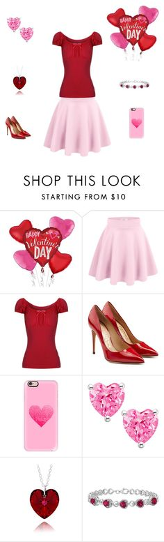 """""""Happy Valentine's Day 😊☺️❤️💞💘💖"""" by mermaid-princess-loves-music ❤ liked on Polyvore featuring Salvatore Ferragamo and Casetify"""