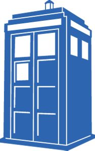 """The TARDIS! """"Time And Relative Dimension In Space"""" this amazing time traveling device used by the Doctor in the hit series """"Doctor Who"""" is a great addition to your bumper, or maybe even your tablet or laptop. It's even available in TARDIS Blue! Allons-y! Roughly 5""""x3"""""""