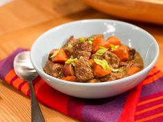 Beef Stew recipe from Katie Lee via Food Network
