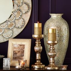Known for their intensity, Scorpios are drawn to the intense shine of gold tones.