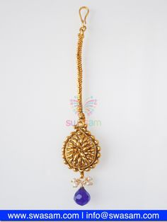 Indian Jewelry Store | Swasam.com: Tikka with Perls and White Stones - Tikka - Jewelry Shop to Buy The Best Indian Jewelry  http://www.swasam.com/jewelry/tikka/tikka-with-perls-and-white-stones-1513.html?___SID=U  #indianjewelry #indian #jewelry #tikka