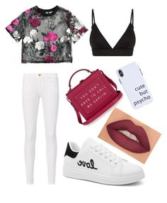 """""""Cute but phyco"""" by yarevega on Polyvore featuring Givenchy and Frame"""