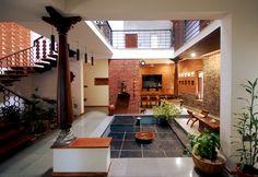 Village House Design, Duplex House Design, Simple House Design, Dream Home Design, Modern House Design, Indian Home Design, Kerala House Design, Courtyard House Plans, Courtyard Design