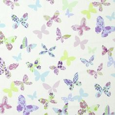 Prestigious Textiles Butterfly Gardens Butterfly Fabric Collection 5860/805 5860/805