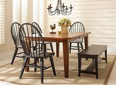 Kenton 5 Pc. Dining Set This One From Raymore And Flanigan Is It, Goes With  Cabinets And Black Blends With Countertop We Chose | For New House |  Pinterest ...