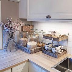 35 elegant kitchen desk organization ideas to look neat 14 Elegant Kitchens, Beautiful Kitchens, Cool Kitchens, Kitchen Desk Organization, Kitchen Desks, Kitchen Utensils, Organization Ideas, Kitchen Room Design, Home Decor Kitchen