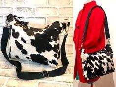 Cowhide Large size shoulder purse with adjustable strap, Faux Cowhide, Cowhide Purse, Cowhide Crossbody Bag, Hobo Bag,Zip open shoulder bag Cowhide Fabric, Cowhide Purse, Cowhide Leather, Large Shoulder Bags, Shoulder Purse, Animal Print Purses, Printed Bags, Gifts For Mum, Crossbody Bag