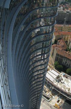 La torre Cesar Pelli - Milano, Porta Nuova Garibaldi.