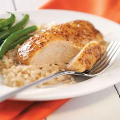 Maple Mustard Chicken Recipe -This chicken recipe is one of my husband's favorites. It only calls for four ingredients, and we try to have them on hand all the time for a delicious and cozy dinner. —Jennifer Seidel, Midland, Michigan