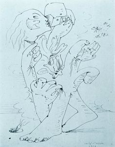 Andre Masson and the Automatic Drawing | The Surrealist Perspective