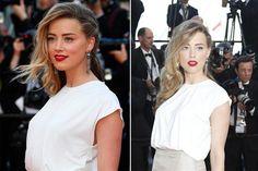 Un peinado muy popular entre las celebrities es este que se hizo Amber Heard: el pelo tirado hacia un costado con mucho movimiento.  /Reu...